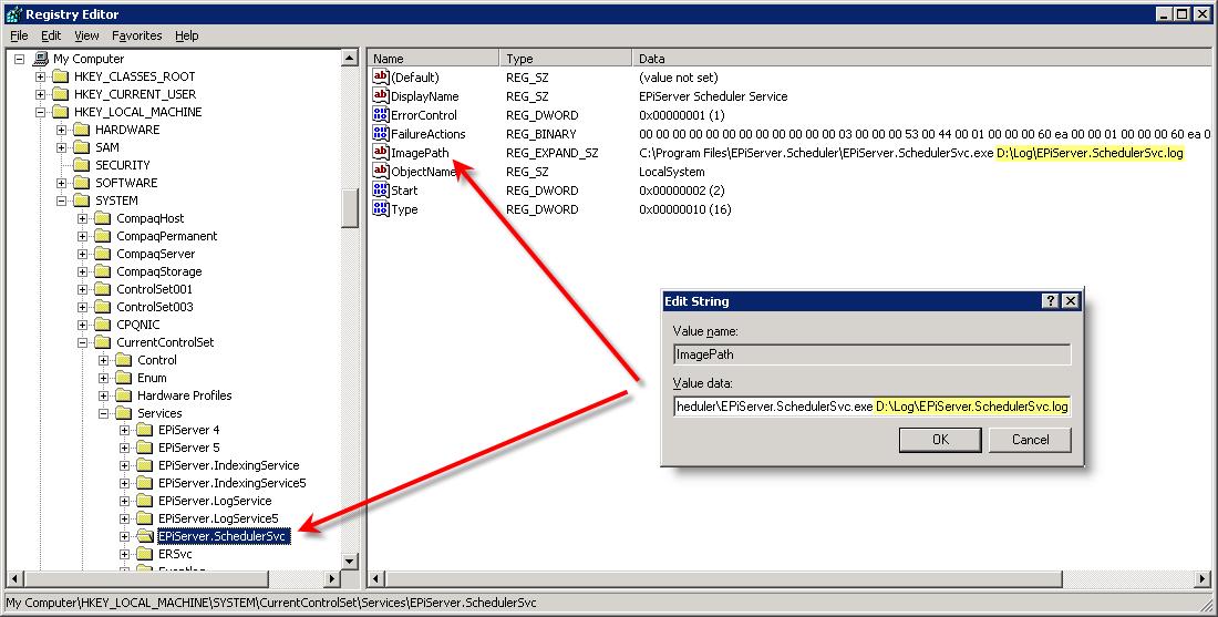 Enable debug logging for EPiServer Scheduler